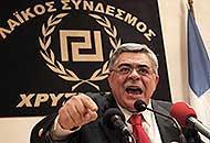 Nikos Michaloliakos, leader di Alba Dorata (Ap)