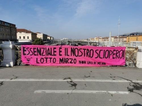 8 marzo: sciopero globale transfemminista nella pandemia (aggiornamenti dalle piazze italiane)