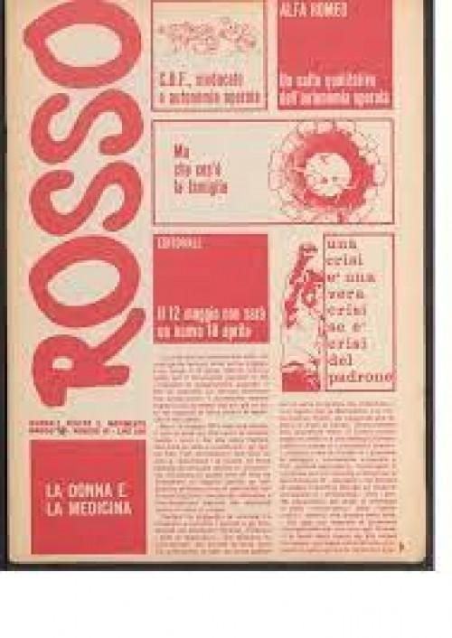 21 maggio 1974 :  Rosso 1974 - Pat Garrett e Billy Kid ovvero I consigli del sindacato e l'autonomia operaia