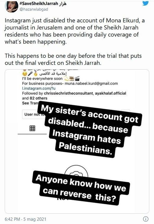 Twitter Palestina
