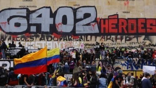 Nuova giornata di mobilitazioni a Bogotá e in altre città della Colombia