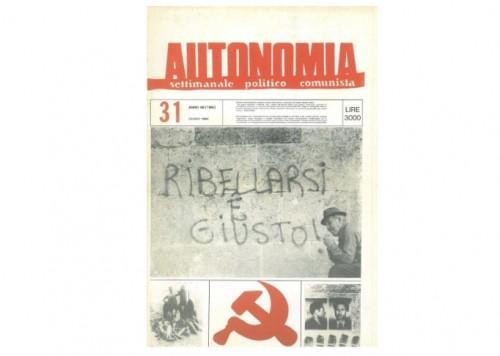 12 Giugno 1984 Intervista al coordinamento antinucleare antimilitarista veneto