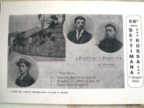 7 giugno 1914 : la settimana rossa in Toscana