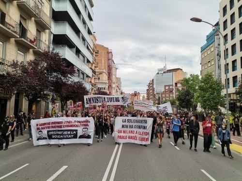 Piattaforme in rete contro la repressione - Pablo Hasél libero