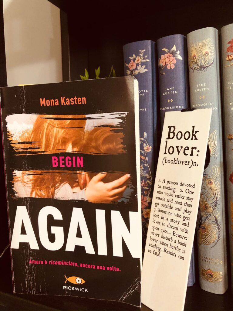 Mona Kasten Begin-Again (copertina)
