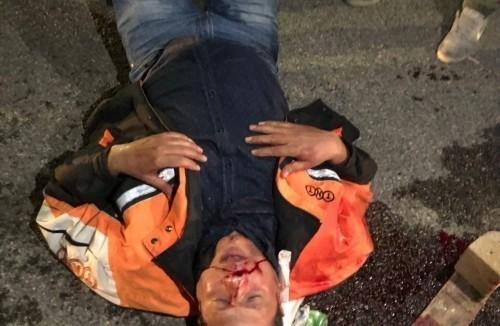 Il video dell'aggressione armata compiuta stanotte a Lodi dai sicari di Zampieri contro i lavoratori Fedex in sciopero