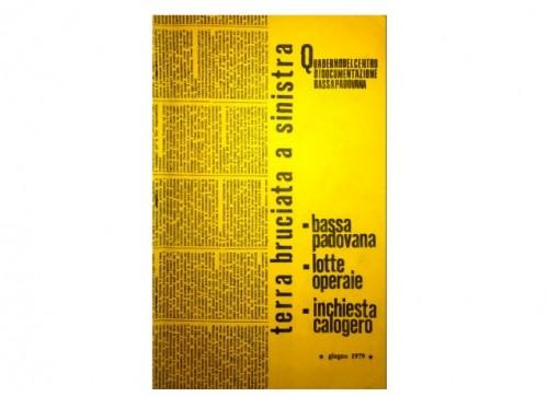30 Giugno 1979: Quaderno centro documentazione BassaPadovana
