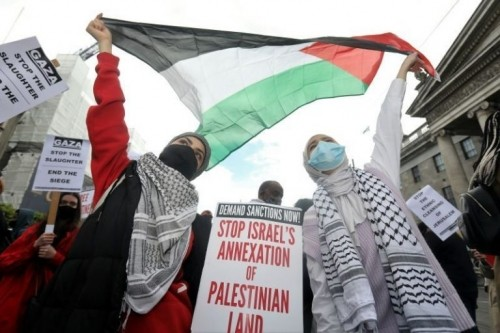 L'IRLANDA CONDANNA UFFICIALMENTE ISRAELE PER L'ANNESSIONE DEI TERRITORI PALESTINESI
