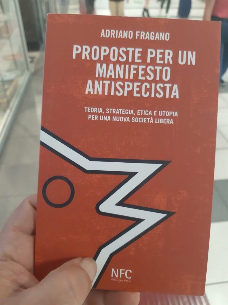 manifesto biblioteca cafiero fairoma 2021 768x1024 - Manifesto antispecista nella biblioteca del Gruppo Anarchico Cafiero FAIRoma