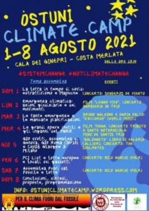 CLIMATE CAMP BRINDISI: 1-8 AGOSTO CAMPEGGIO NO TAP/SNAM