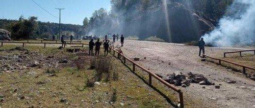 Nazione Mapuche: La comunità Rañilwenü dell'Alto Biobío resiste ad un tentativo di sgombero dei Carabinieri