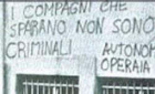 26 Settembre 1979: A Padova si spara contro Angelo Ventura