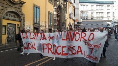 Napoli: una nuova incriminazione per associazione a delinquere contro il Movimento dei disoccupati