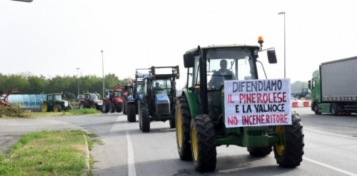 FROSSASCO: LA BATTAGLIA PER IL NO ALL' INCENERITORE