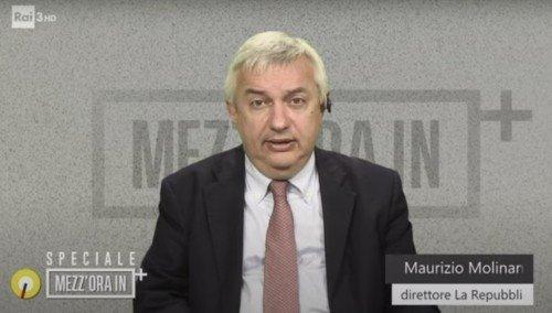 Le deliranti parole di Maurizio Molinari sui No Tav